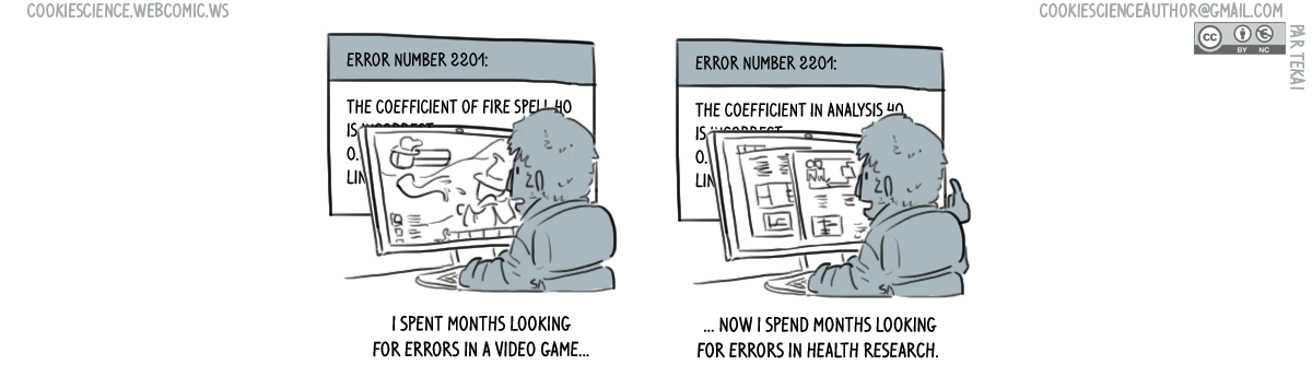 732 - Looking for errors is still looking for errors