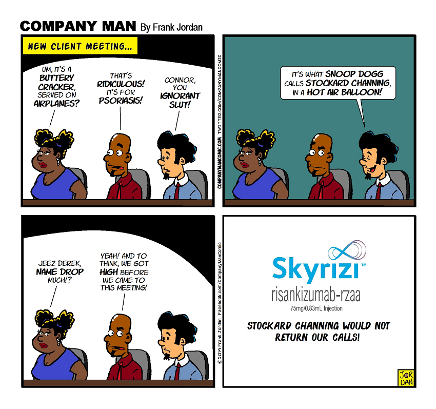 Brought to you by #Skyrizi! 10/2/19