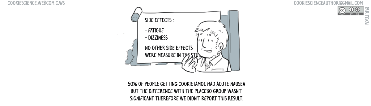 """682 - """"Non-significant"""" side effects go unreported"""