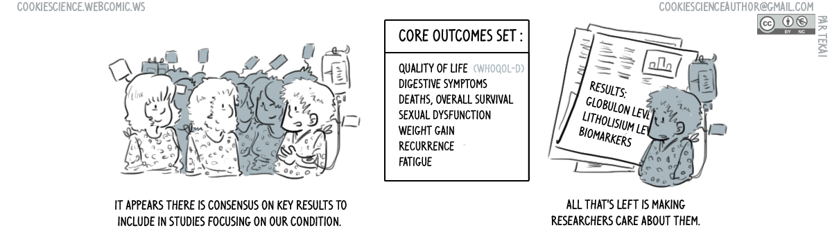631 - What did this core outcome set become?