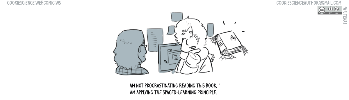627 - Procrastinating spaced learning