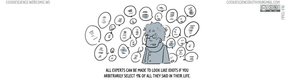 609 - All experts can look stupid