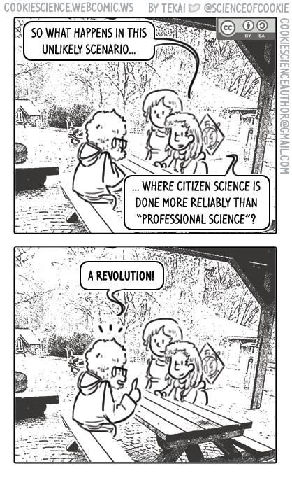 1368 - When citizen science evolves...