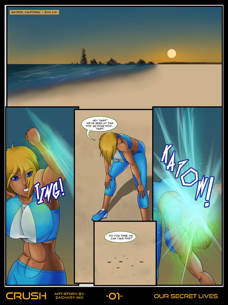 Crush: Our Secret Lives Page 01