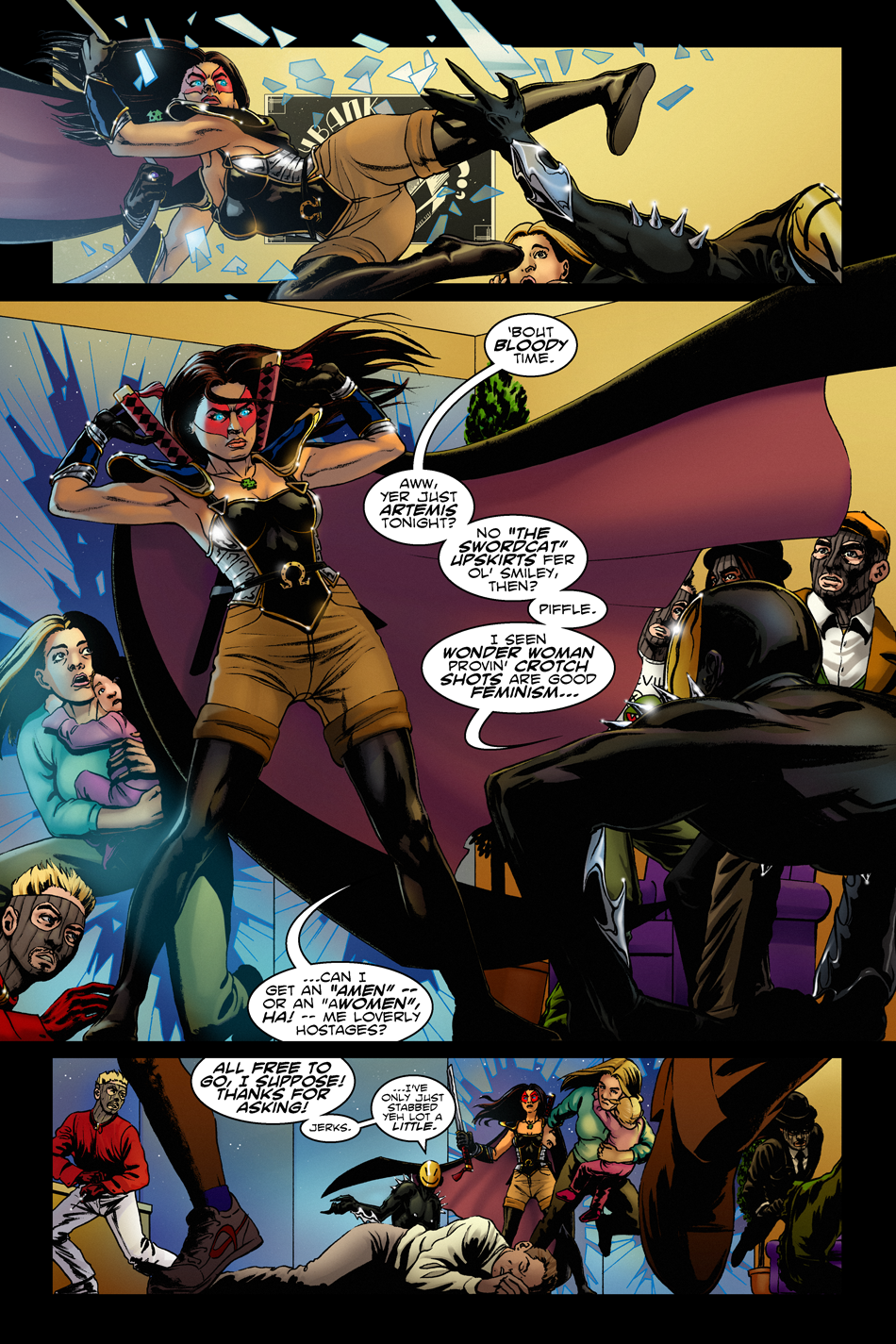 #1, Pg. 11 | Artemis Swings to the Rescue!