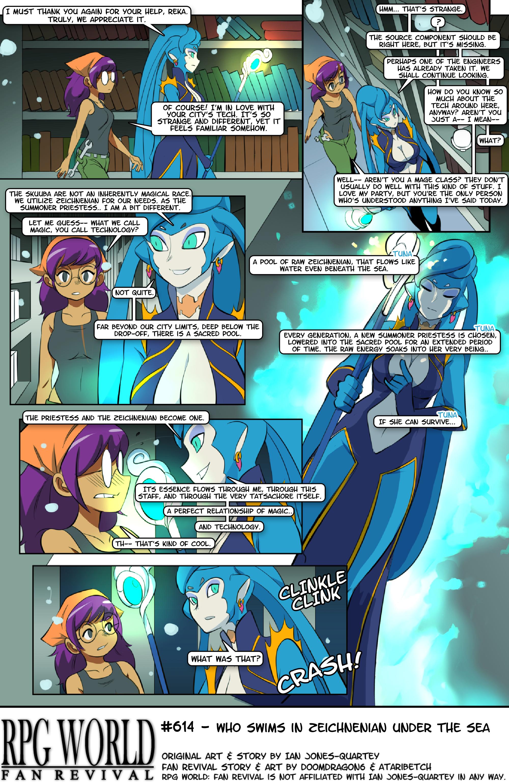#614 - Who Swims in Zeichnenian Under the Sea