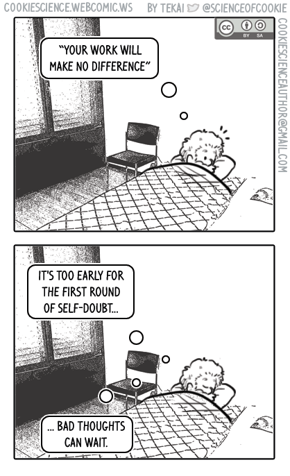 1428 - Self-doubt creeps in again