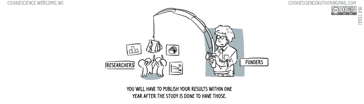 591 - Publish results within a year or else...