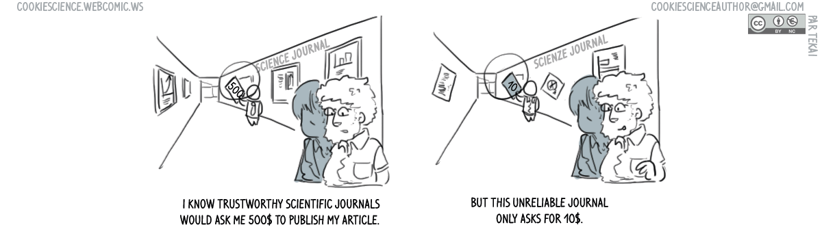 576 - Predatory journals can be attractive