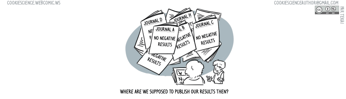 """570 - Nobody wanted our """"negative"""" journals"""