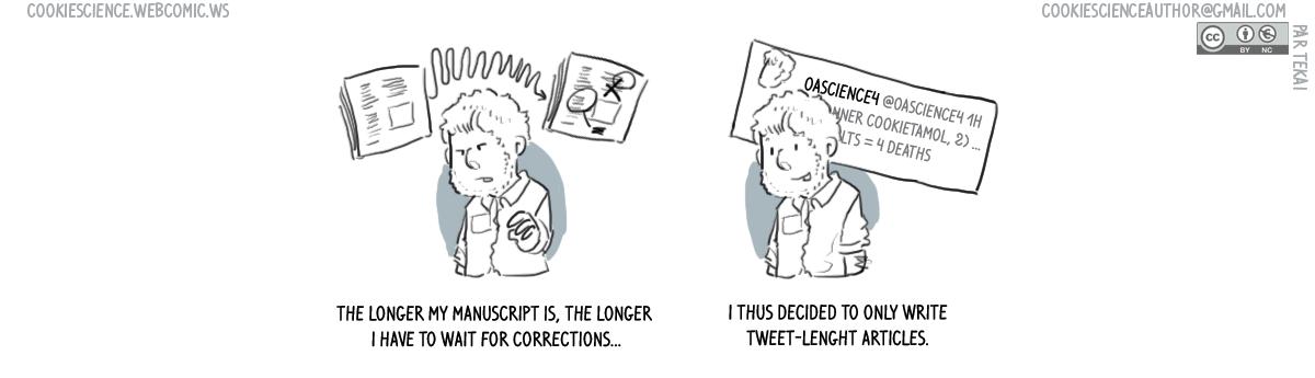 553 - Shorter manuscripts, shorter time until publication?