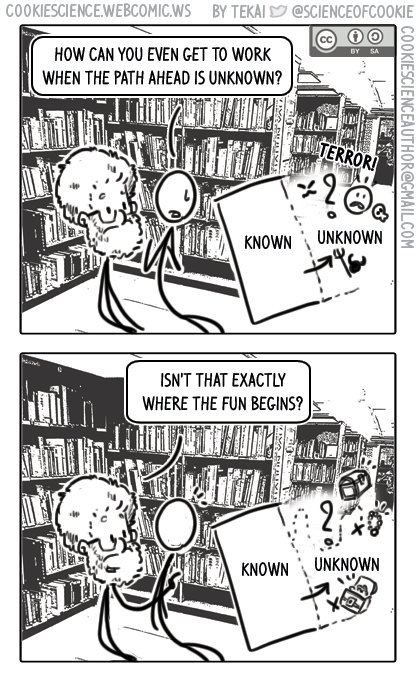 1444 - The unknown is the fun part