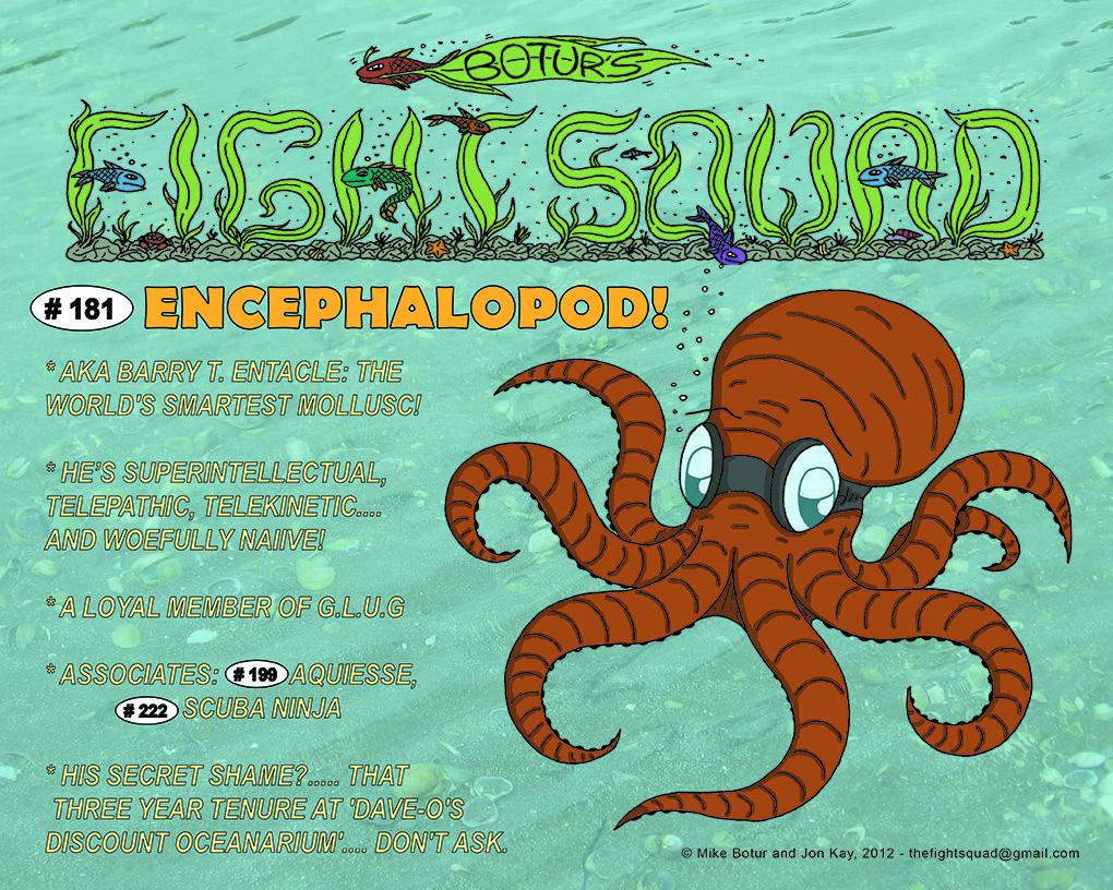 Character profile: Encephalopod