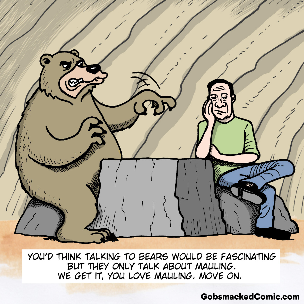 What If Bears Talked?