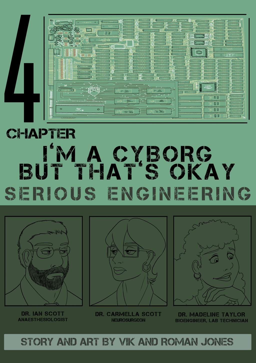 I'm a Cyborg but That's Okay cover