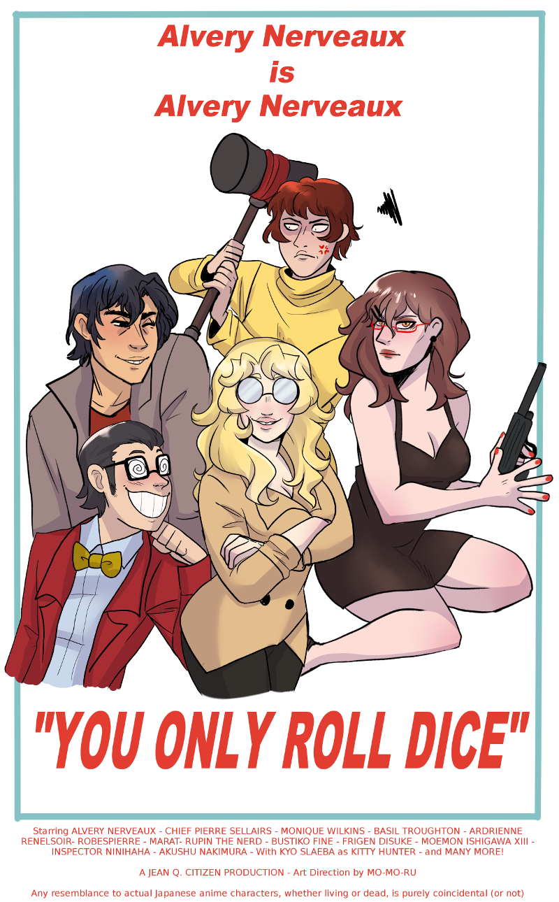 You Only Roll Dice Cover Page