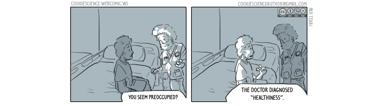 507 - A diagnosis that makes anxious