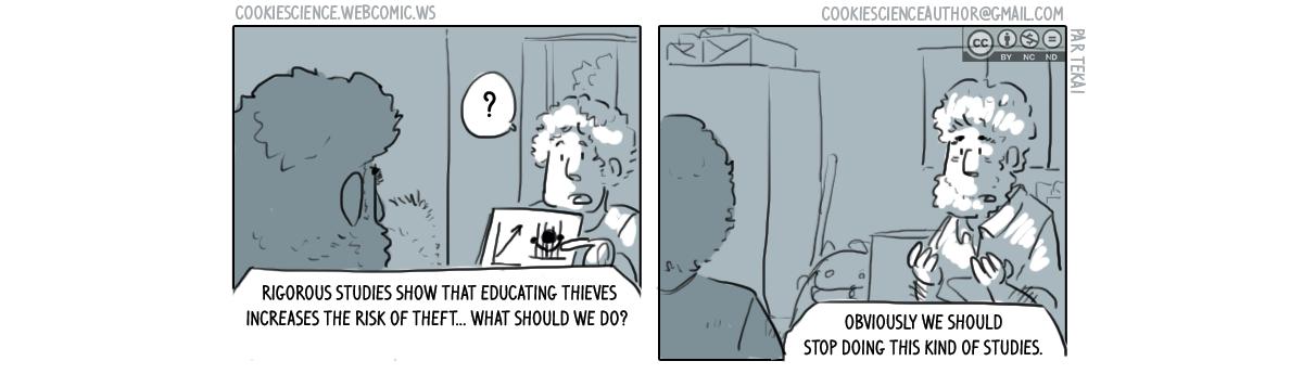 503 - Studies show it is a bad idea. Stop doing the studies?
