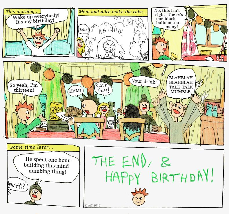 My birthday! (2010)