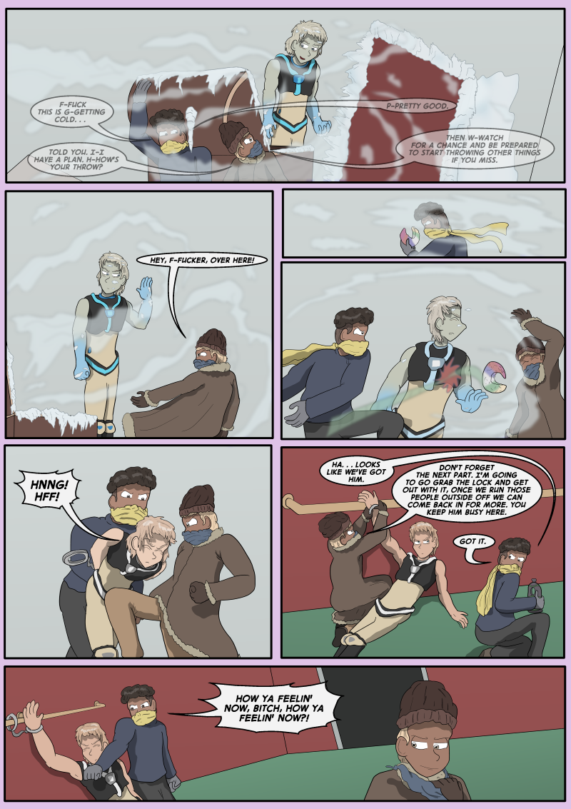 Blue Cold, Page 18