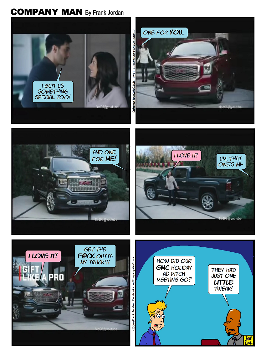 The #GMC #GiftLikeAPro ad you DIDN'T see!