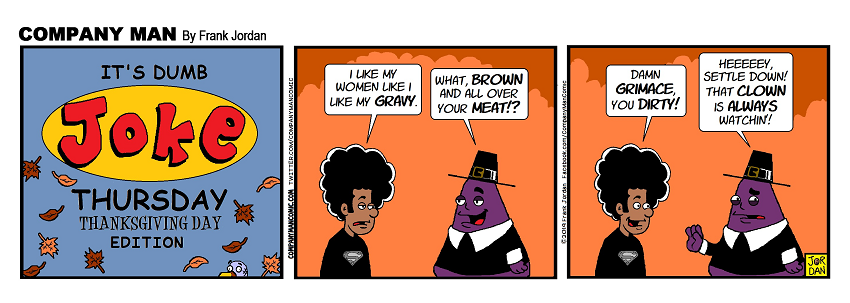 It's #DumbJokeThursday, #Thanksgiving Edition!