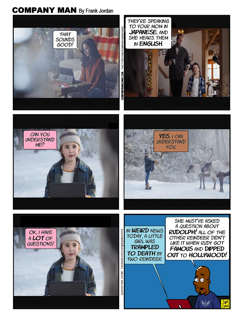 This #Microsoft ad already annoys me!