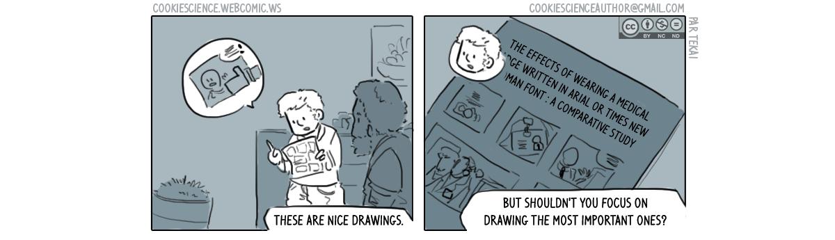 495 - Focus on drawing useful studies