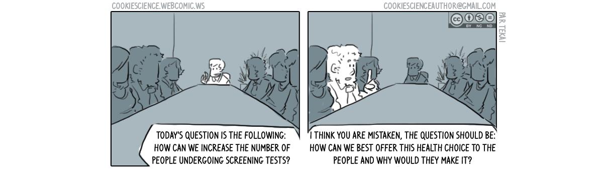 457 - Screening should be a choice