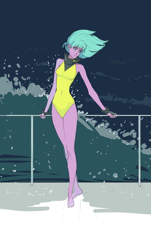 "Pearl ""Percy"" Adams, the Fishergirl!"