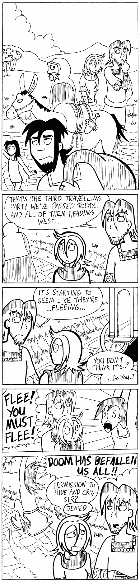 (#164) Flee