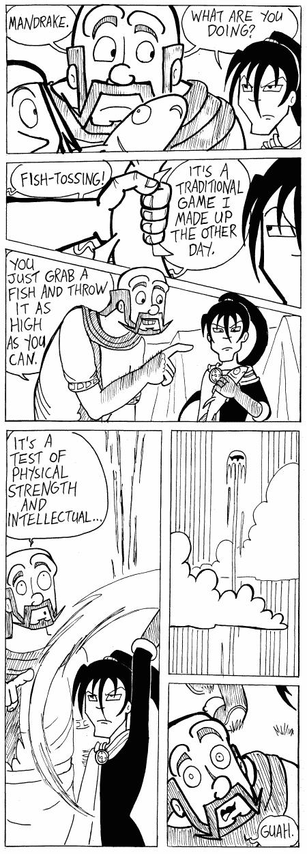 (#253) Fish Tossing