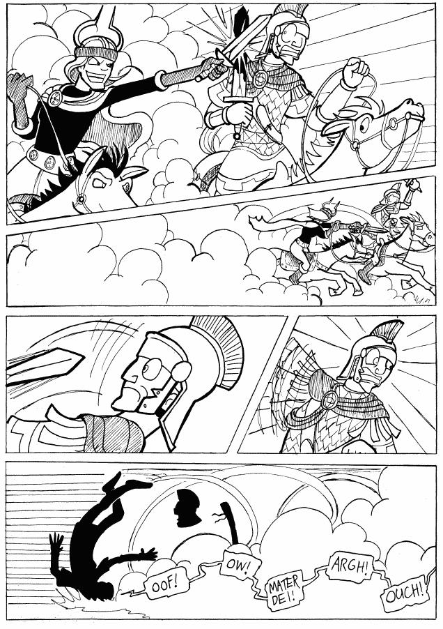 (#316) Horse-to-Horse Combat