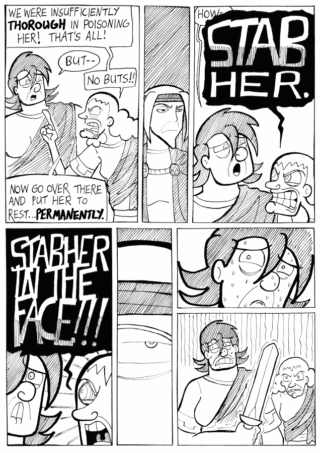 (#421) Stab Her