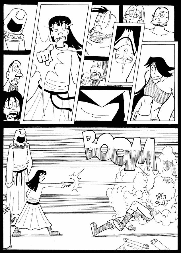 (#45) Sorceress vs Barbarian