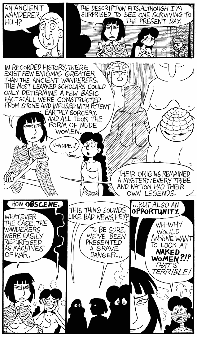 (#208) The Ancient Wanderers