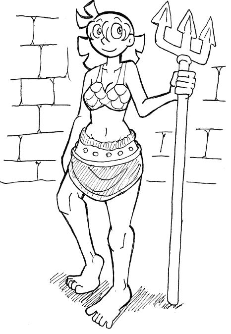 Cerintha the Gladiatrix