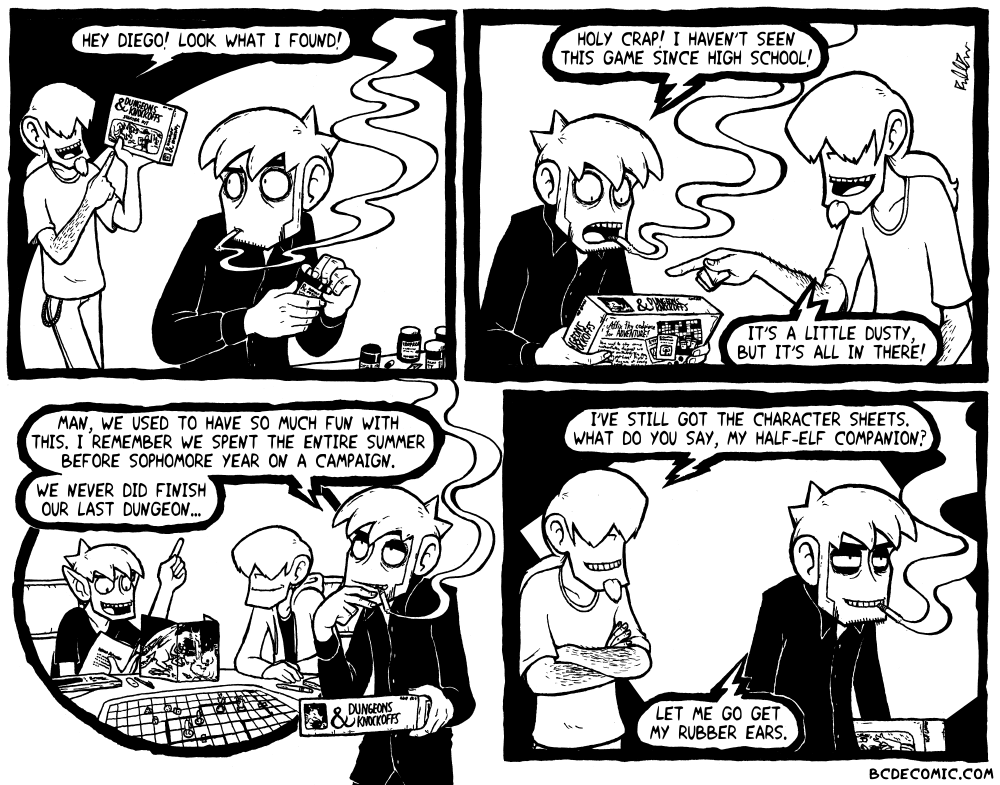 On Tabletop RPGs, Pt. 1