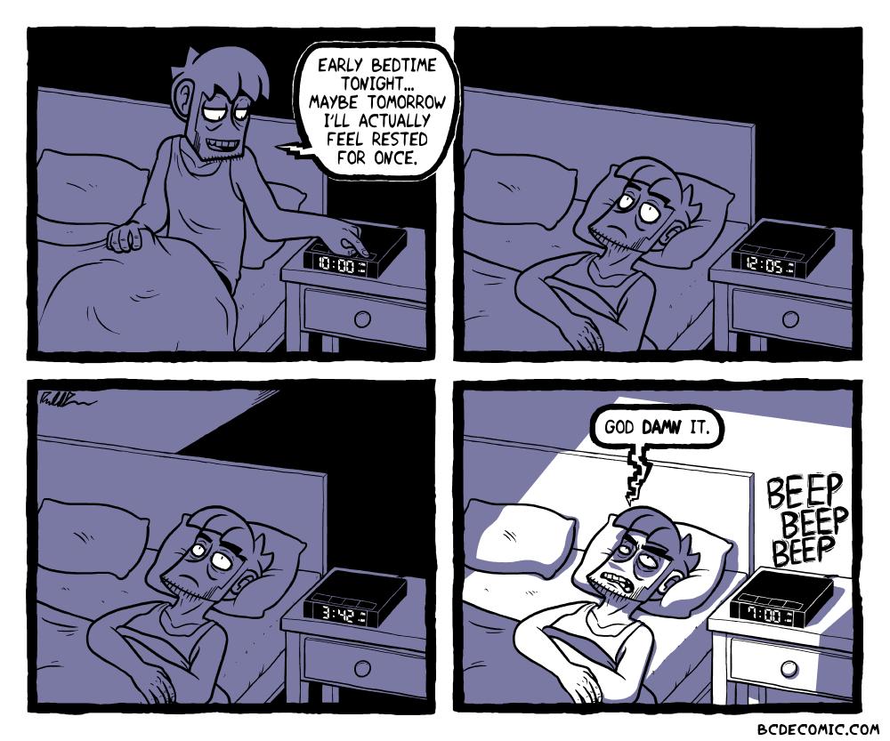 On Insomnia, Pt. 1
