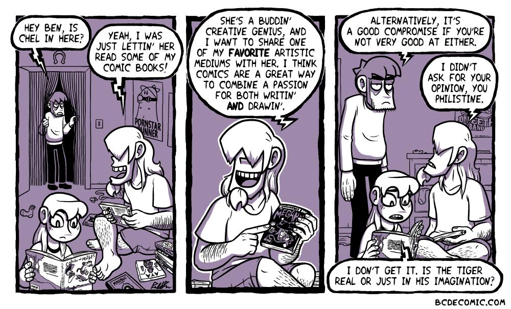On Comics