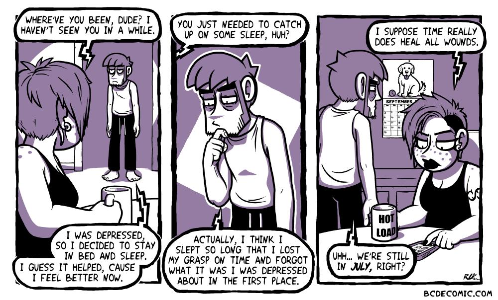 On Depression Naps