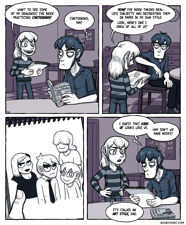 On Cartooning