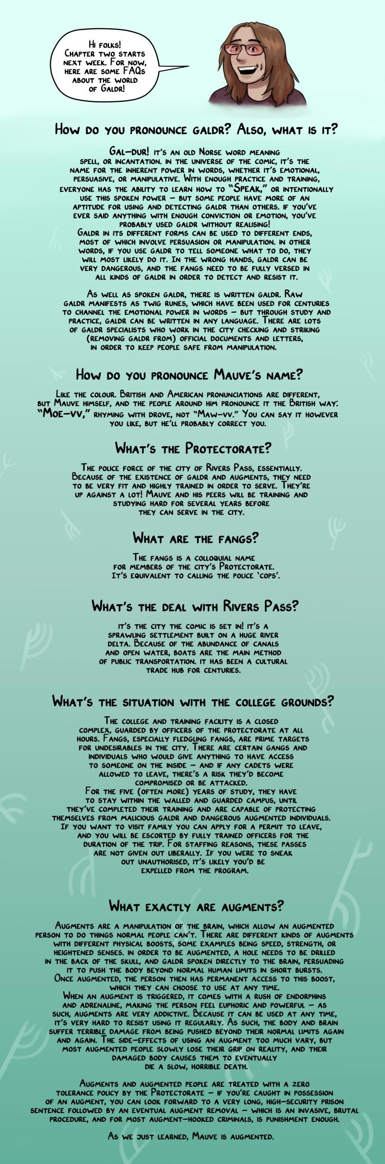 FAQ buffer page
