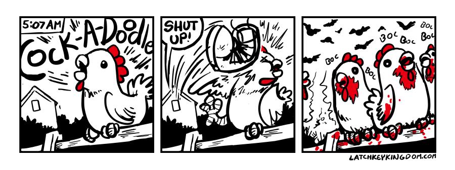 Cluck Cluck Crisis 1