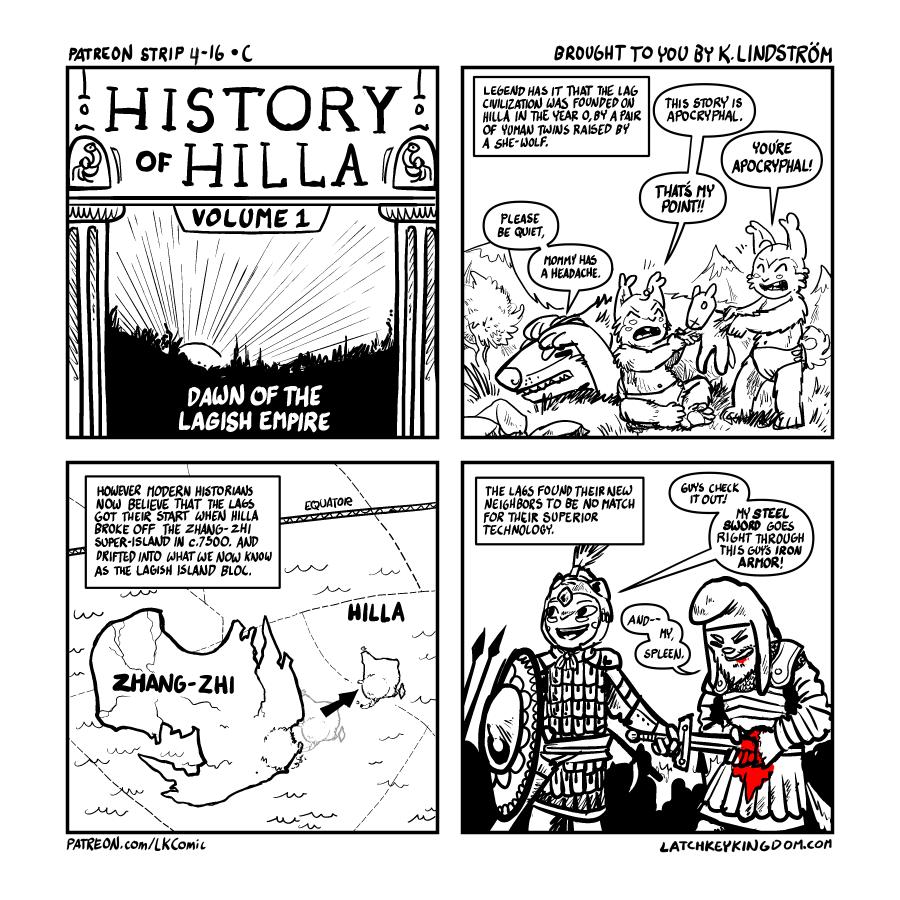 History of Hilla 1 (P)
