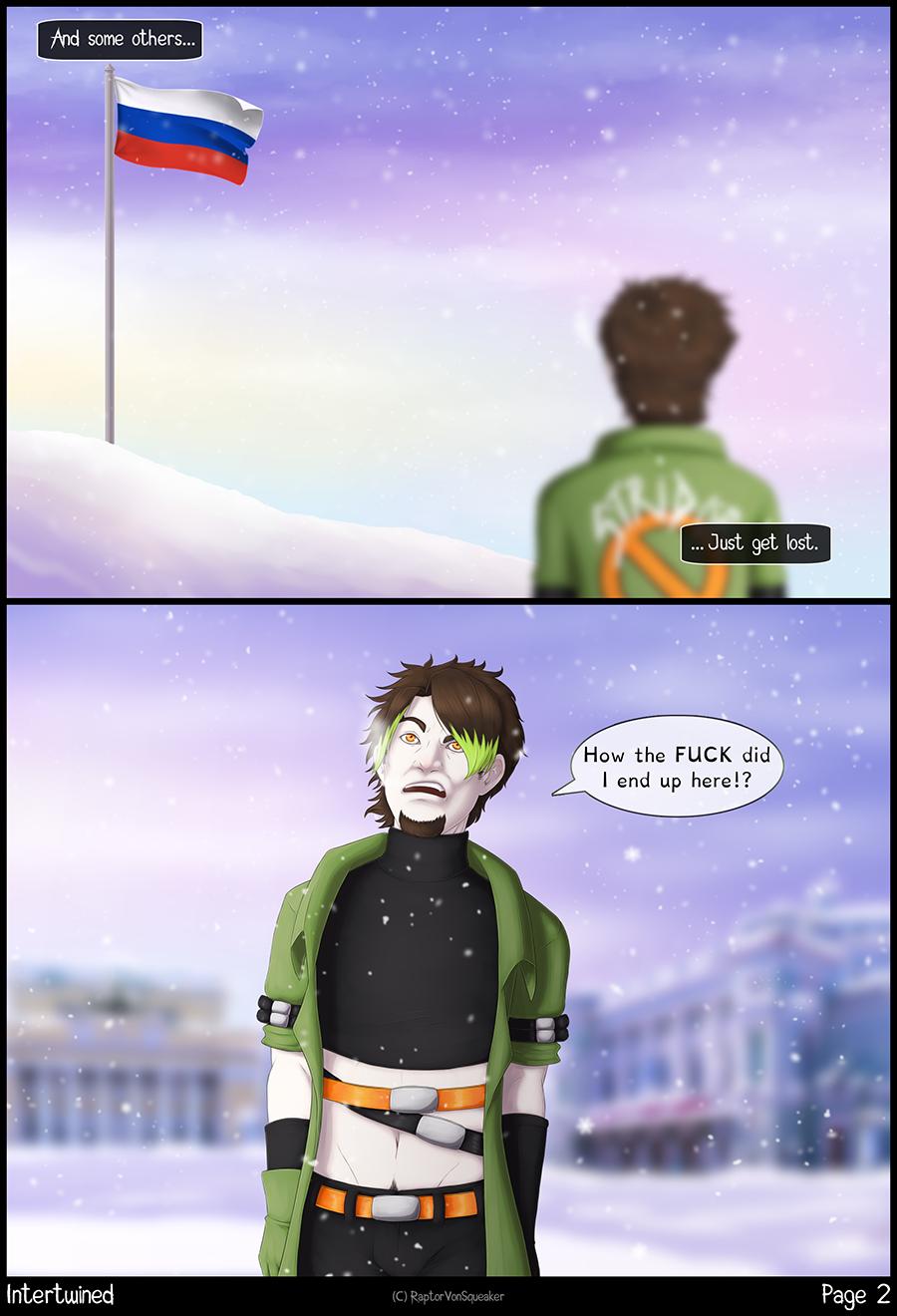 Page 2 - Got lost.