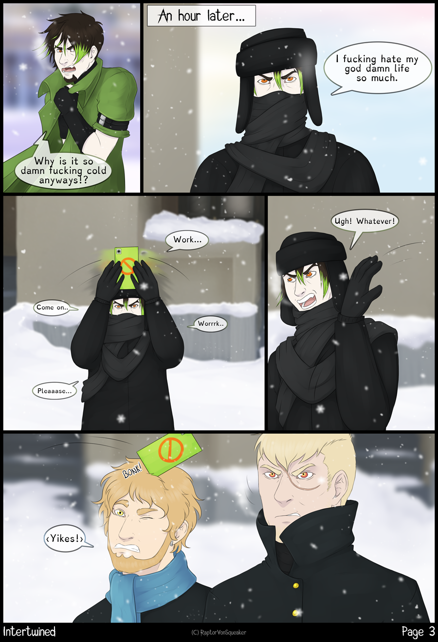 Page 3 - Cold.