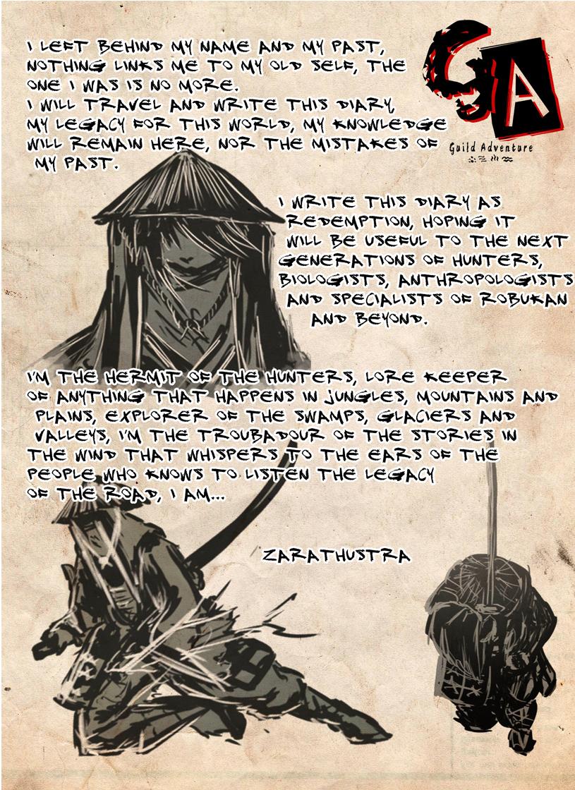 Hunter's diary 1