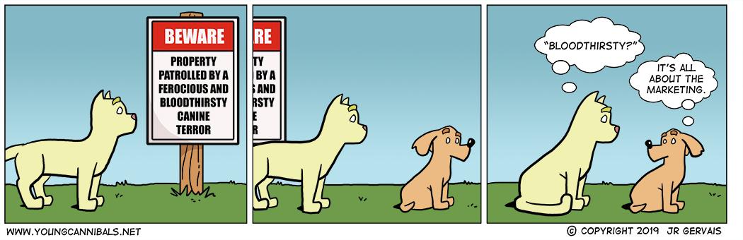 His Bark...