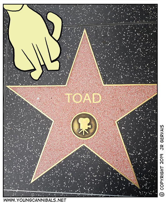 Toad Goes Hollywood, Part 2!!!